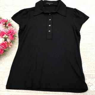 セオリー(theory)のセオリー♡ポロシャツ♡ブラック(ポロシャツ)
