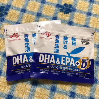 味の素 DHA EPA 2袋 新品 未開封