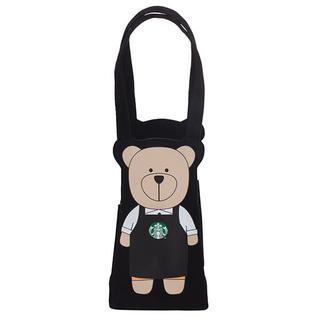 Starbucks Coffee - スターバックス:ベアリスタ タンブラーバッグ 台湾 スタバ 黒