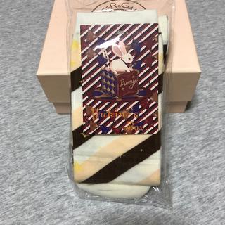 Angelic Pretty - マカロン オーバーニー 茶色 ソックス