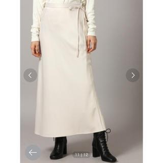 ローリーズファーム(LOWRYS FARM)のサテンスカート(ロングスカート)
