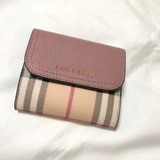 バーバリー(BURBERRY)のBURBERRY ミニ財布(折り財布)