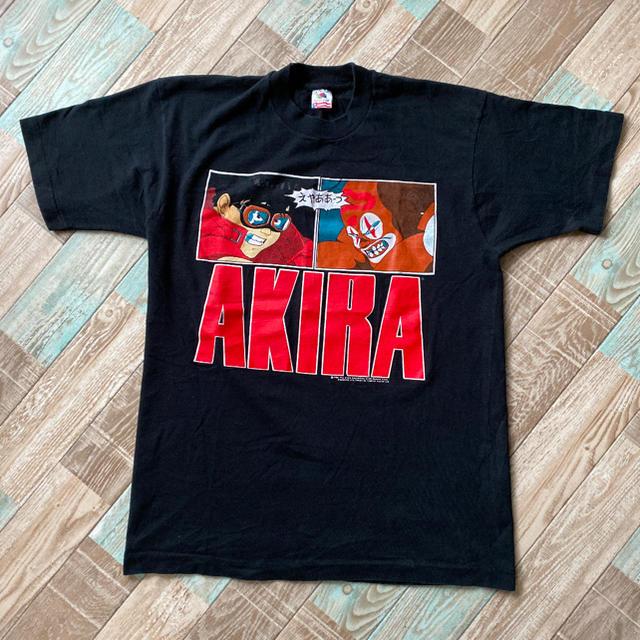 ANARCHIC ADJUSTMENT(アナーキックアジャストメント)の80s ビンテージ USA製 AKIRA 金田 ジョーカー Tシャツ メンズのトップス(Tシャツ/カットソー(半袖/袖なし))の商品写真