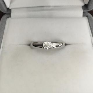 Tiffany & Co. - ティファニー ダイヤモンド ドッツ リング Pt950 0.20ct 6.2g