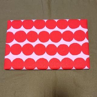 マリメッコ(marimekko)のミニアイロン台 ピンク柄 ハンドメイド(雑貨)