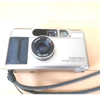 キョウセラ(京セラ)のチャクティー様専用 CONTAX T2 (フィルムカメラ)