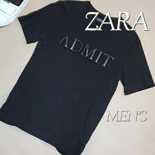 ZARA - 送料無料☆ ZARA ザラ メンズ 半袖 Tシャツ M  半袖Tシャツ