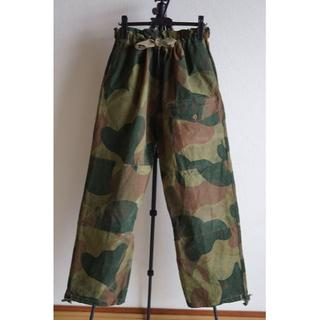 コモリ(COMOLI)のスペシャル 50s ベルギー軍 ブラッシュストロークカモ パンツ SAS(ワークパンツ/カーゴパンツ)