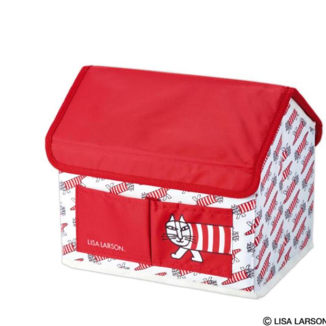 Lisa Larson(リサラーソン)のLISA LARSON マイキーのハウス形 収納BOX インテリア/住まい/日用品の収納家具(ケース/ボックス)の商品写真