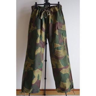 コモリ(COMOLI)のスペシャル 50s ベルギー軍 ブラッシュストロークカモ パンツ イギリス軍(ワークパンツ/カーゴパンツ)