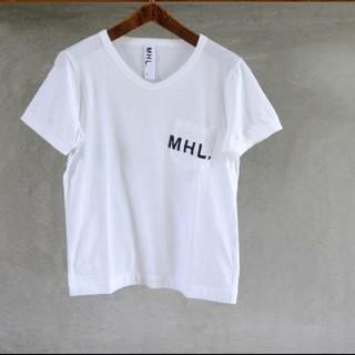 MARGARET HOWELL - MHL.   ロゴTシャツ