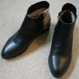 オリエンタルトラフィック(ORiental TRaffic)のオリエンタルトラフィック サイドゴアショートブーツ サイズM 23.5cm(ブーツ)
