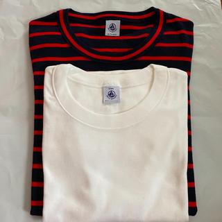 プチバトー(PETIT BATEAU)のプチバトー★半袖Tシャツ2枚セット(Tシャツ(半袖/袖なし))