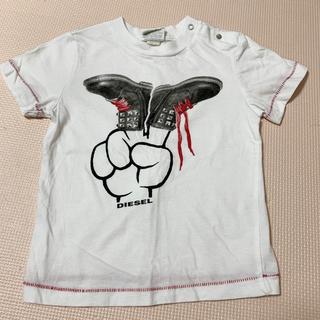ディーゼル(DIESEL)のDIESEL キッズTシャツ 18m 80 90(Tシャツ)