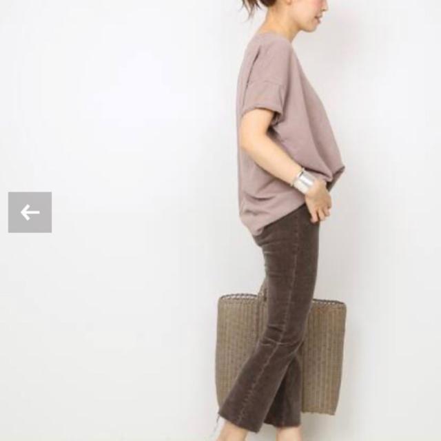 DEUXIEME CLASSE(ドゥーズィエムクラス)の【SKARGORN/スカルゴーン】 ポケツキワイド Tシャツ   レディースのトップス(Tシャツ(半袖/袖なし))の商品写真
