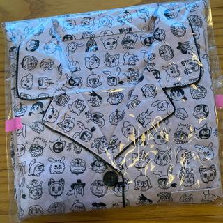 GU - GU ドラえもん 総柄 パジャマ ピンク XL