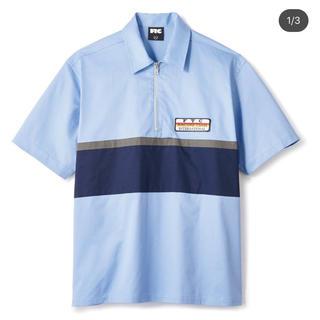 エフティーシー(FTC)のFTC half zip pit crew shirt(シャツ)