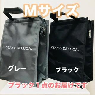 ディーンアンドデルーカ(DEAN & DELUCA)のDEAN&DELUCA保冷バッグ黒Mサイズ トートバッグ エコバッグランチバッグ(エコバッグ)