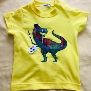 familiar - ファミリア シャツ 恐竜 美品❗️
