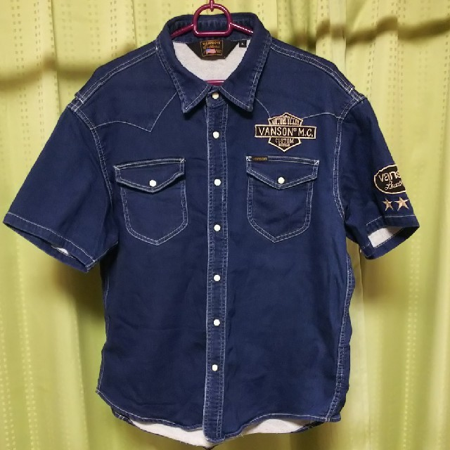 VANSON(バンソン)のバンソンデニム(VANSON) メンズのジャケット/アウター(Gジャン/デニムジャケット)の商品写真