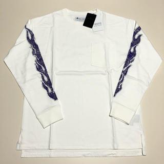 ナノユニバース(nano・universe)のナノユニバース ロンT Tシャツ フレーム 炎(Tシャツ/カットソー(七分/長袖))