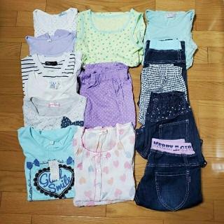 しまむら - 140~160女の子夏服14点まとめ売り 未使用あり