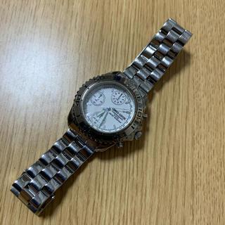エンリココベリ(ENRICO COVERI)のエンリココベリ クロノグラフ ホワイト(腕時計(アナログ))