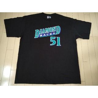 Majestic - マジェステック製 ランディ ジョンソン MLB Tシャツ ダイヤモンドバックス