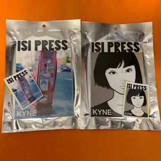 エフティーシー(FTC)のKYNE ISI PRESS  Vol.1 Vol.2 ステッカー付き 未開封(アート/エンタメ)