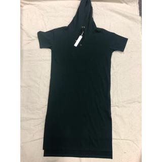ダブルスタンダードクロージング(DOUBLE STANDARD CLOTHING)の新品未使用praia  フードワンピ(ロングワンピース/マキシワンピース)