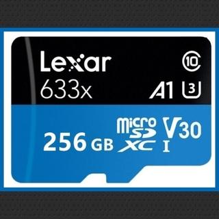 lexar microsd 256GB