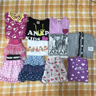 アナップキッズ(ANAP Kids)のANAP 女の子まとめ売り✨サイズ100✨(Tシャツ/カットソー)