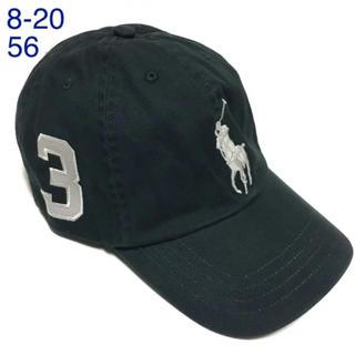 ラルフローレン(Ralph Lauren)の【新品】ラルフローレン♡ビッグポニーチノベースボールキャップ8-20グレー帽子(帽子)