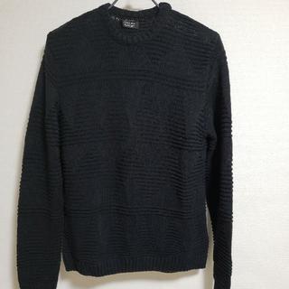 ZARA - ZARAメンズ 黒色 セーター USA Lサイズ