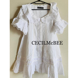 CECIL McBEE - 新品★セシルマクビー CECIL★レースカットソー★トップス