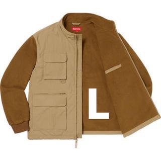 Supreme - supreme Upland Fleece Jacket L 茶