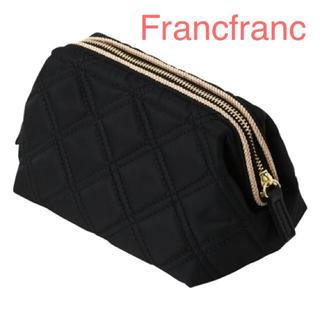 Francfranc - Francfranc フランフラン キルトワイヤーポーチ