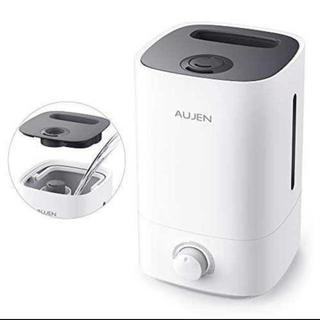 ブラック加湿器 卓上 令和最強版 AUJEN 3.5 次亜塩素酸水 加湿器 除菌