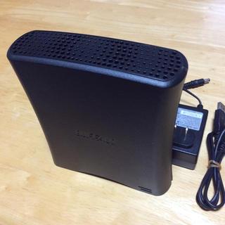 バッファロー(Buffalo)のバッファロー外付ハードディスク2,0TB  BUFFALO USB外付HDD訳有(テレビ)