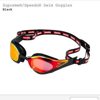シュプリーム(Supreme)の黒 ブラック speedo swim Goggles ②(その他)