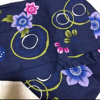 オリーブデオリーブ(OLIVEdesOLIVE)のOlive des Oliveコラボ 浴衣 ネイビー  花柄 ゆかた(浴衣)