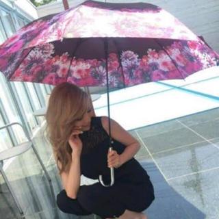 レディー(Rady)の[専用]Rady リゾートフラワー傘ブラック(傘)