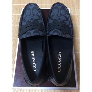 コーチ(COACH)のコーチ メンズ 革靴 新品(スリッポン/モカシン)