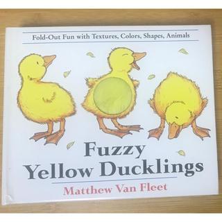 英語絵本 Fuzzy Yellow Duckling 触って楽しい!(洋書)