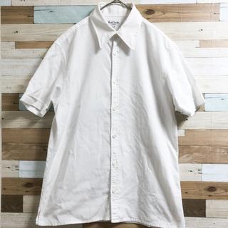 Paul Smith - ポールスミス 半袖白シャツ Mサイズ