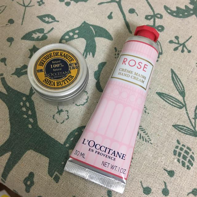 L'OCCITANE(ロクシタン)のL'Occitaneハンドクリーム•保湿バーム コスメ/美容のボディケア(ハンドクリーム)の商品写真