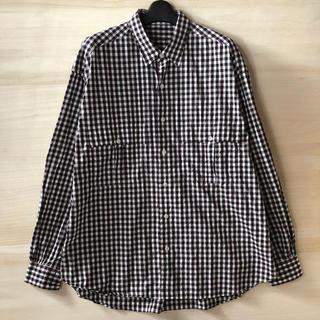 PORTER - Porter Classic ロールアップトリコロールギンガムチェックシャツ