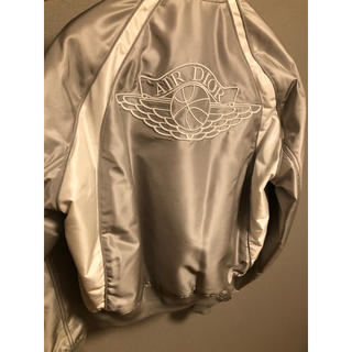 Dior - 【Dior】店頭限定 AIR DIORジョーダンコラボ ブルゾン グレー M相当