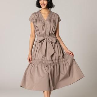 ダブルスタンダードクロージング(DOUBLE STANDARD CLOTHING)のダブスタ♥️新品今季春夏フリルワンピース(ひざ丈ワンピース)