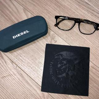 DIESEL - DIESEL 伊達メガネ ほぼ新品